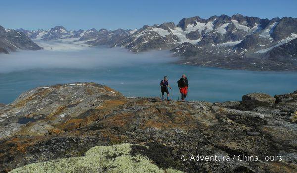 Turistika ve východním Grónsku