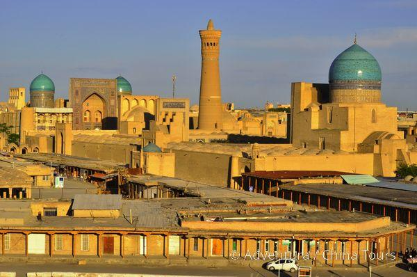 Uzbekistán – křižovatka Hedvábné stezky
