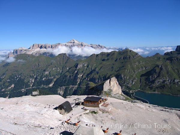 Dolomity – Tre Cime, Tofana a Marmolada