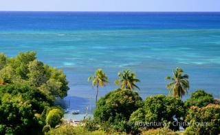 Kuba a poloostrov Yucatán