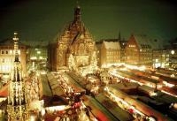 Norimberk a Regensburg, nejhezčí adventní trhy Bavorska