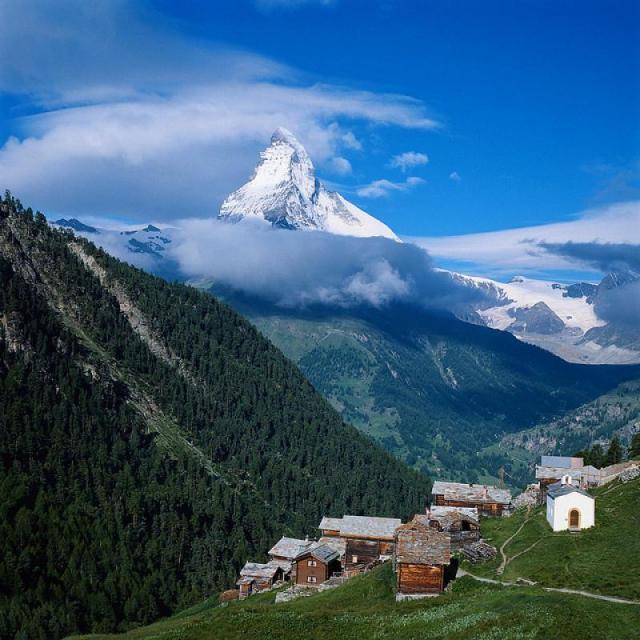 Matterhorn - okolo nejkrásnější hory Evropy