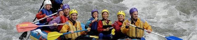 Rodinný rafting
