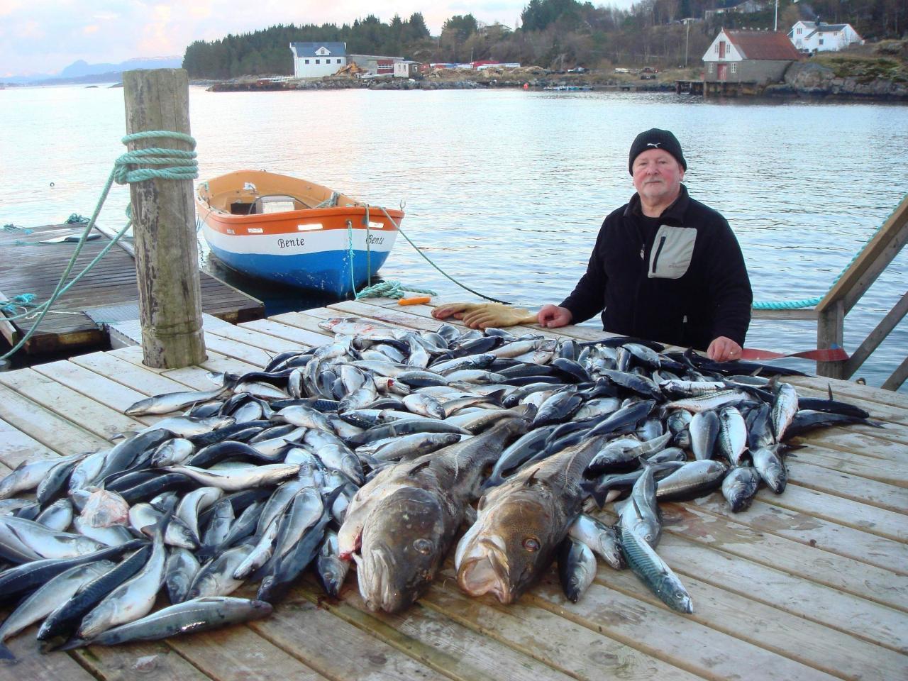 Norsko, rybolov, ostrov Averoy, rybářské centrum