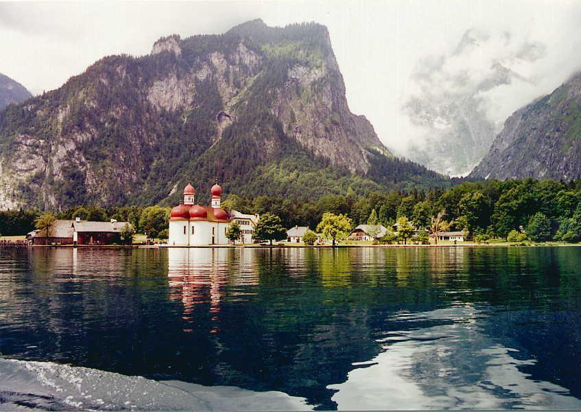 Německo, Berchtesgaden  Orlí Hnízdo  Königsee