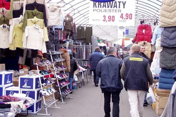 Polsko, Kudowa, Zdrój, levné nákupy