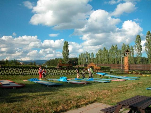 Areál Holiday park Liščí farma