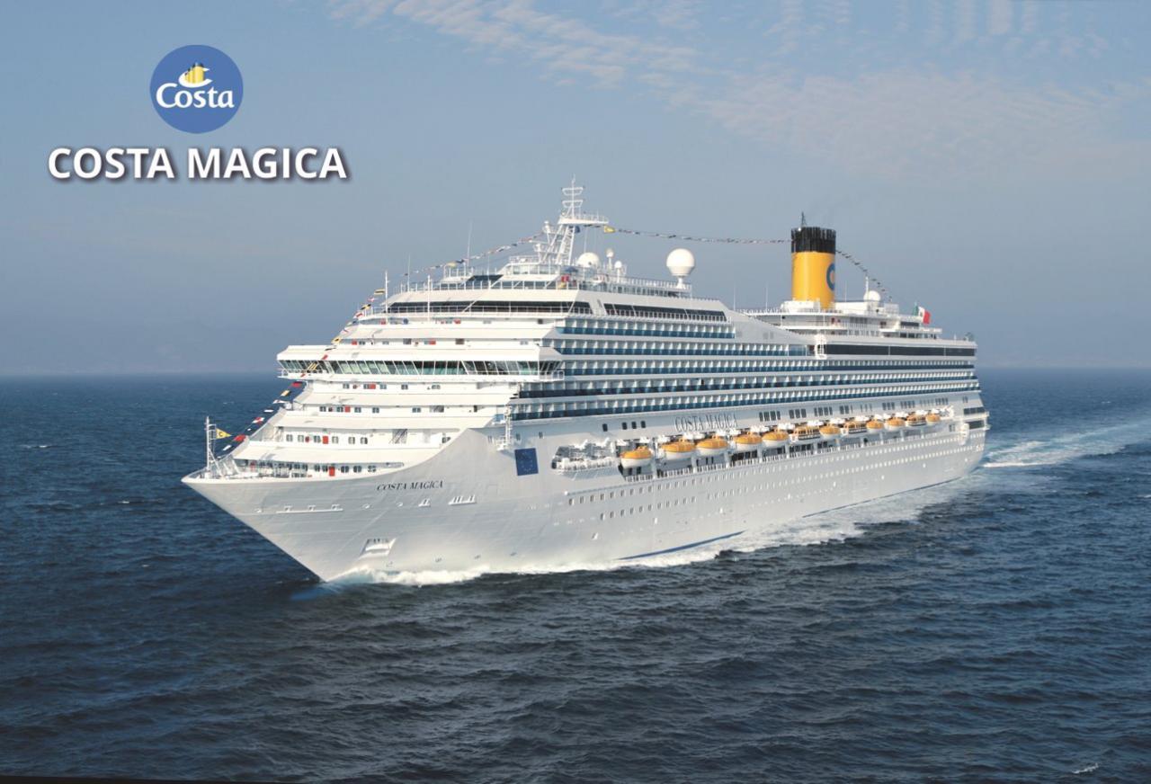 Itálie, Španělsko, Francie ze Savony na lodi Costa Magica ...
